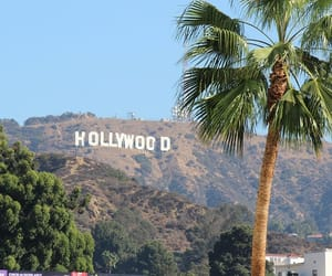 hollywood, los angeles, and travel image