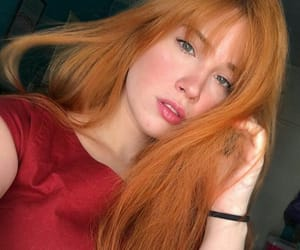 ginger, red, and redhead girl image