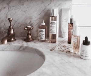 beauty, bathroom, and makeup image