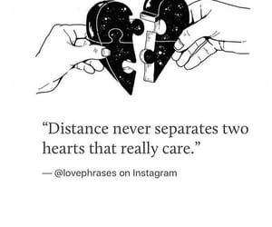 couple, distance, and heart image