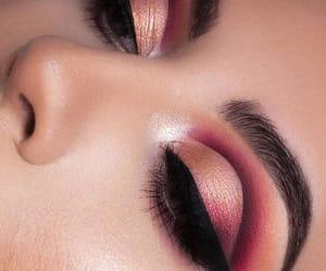 cranberry, eyeshadow, and makeup image