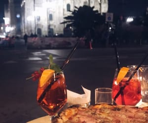 citylights, date, and dinner image