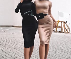 bff, dress, and fashion image