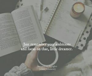 ambitions, books, and dreamer image