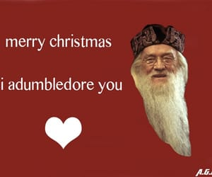 christmas, dumbledore, and funny image