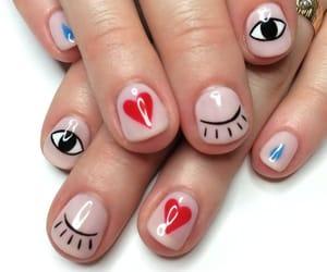 nails, eyes, and heart image