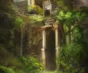 link, fantasy, and forest image