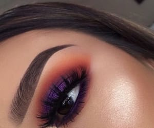 eyebrows, eyeshadow, and highlight image