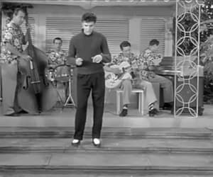 Elvis Presley, jailhouse rock, and gif image