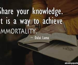 dalai lama, Immortality, and knowledge image