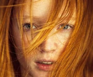 ginger, red hair, and cabelo ruivo image