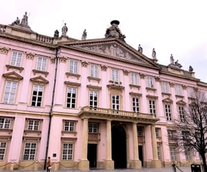 architecture, pink, and slovak republic image