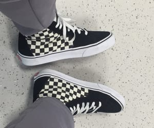 90s, checkered, and fashion image