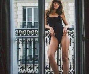 girl, body, and balcony image