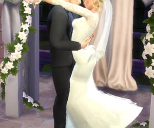 sims, wedding, and sims 4 image