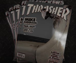 aesthetic, gray, and thrasher image