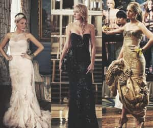 Couture, dress, and gossip girl image
