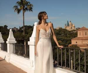 dress, fashion, and bridal image