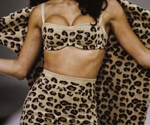 fashion, aesthetic, and leopard image