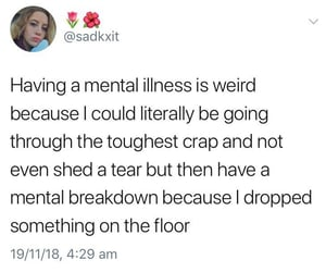 funny, memes, and mental health image