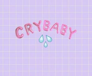 wallpaper, crybaby, and pink image
