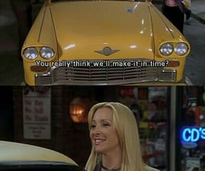 friends, phoebe buffay, and funny image