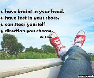 Dr. Seuss, positive quotes, and motivational quotes image