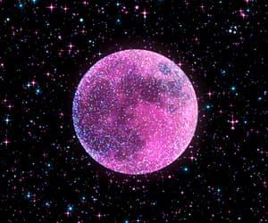 gif, purple, and glitter image