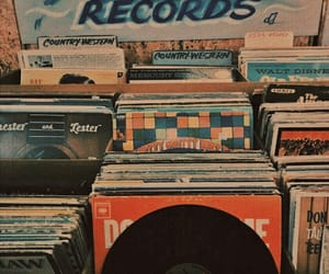 aesthetic, record, and vintage image