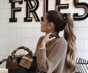 bag, beautiful, and brown image