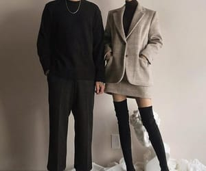 classy, couple, and fashion image
