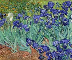 art, van gogh, and flowers image