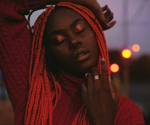 dark skin, fashion, and photography image