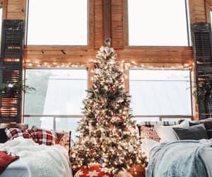 christmas, january, and christmas tree image