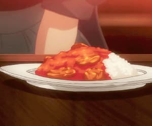 aesthetic, anime, and curry image