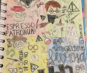 drawing, harrypotter, and ravenclaw image