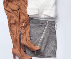 autumn, outfit, and fashion image