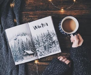 autumn, coffee, and journal image