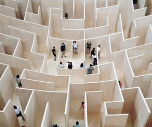 maze, indie, and people image