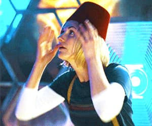 doctor who, gif, and jodie whittaker image