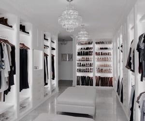 closet, clothes, and home image