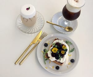 food, aesthetic, and cafe image