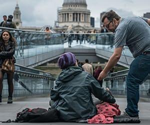 bridge, city, and london image