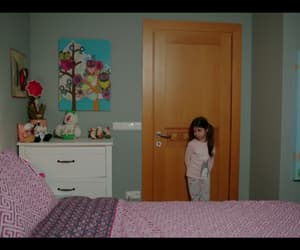 bedroom, drama, and child image