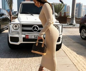 car, Dubai, and girl image
