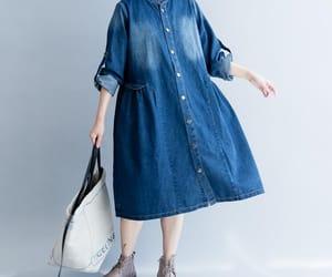 birthday dress, maxi dress, and denim dress image