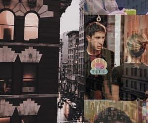 city, couple, and rachel image