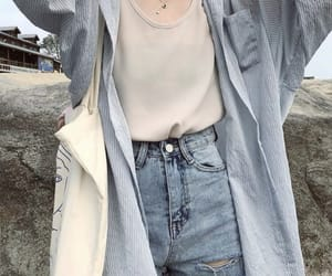 blue, fashion, and clothes image