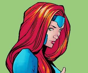 x-men, Marvel, and jean grey image