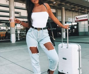 beauty, coffee, and fashion image